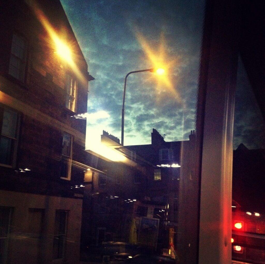 Night by bus